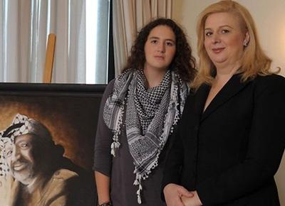 Yaseer-Arafat-wife-Suha-Arafat