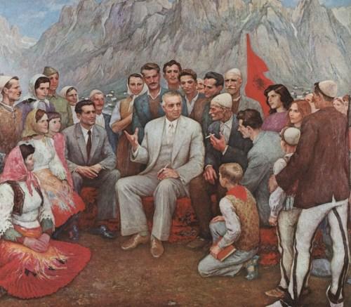 albanian-bs-enver-hoxha
