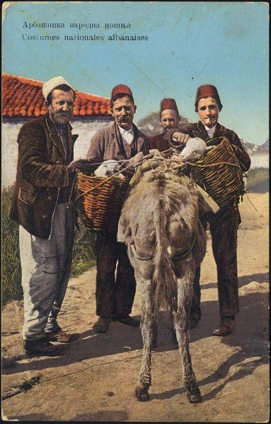 costumes nationales albanises
