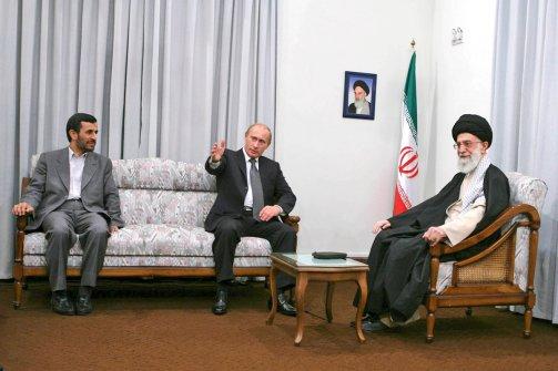 putin ahmadinejad khamenei