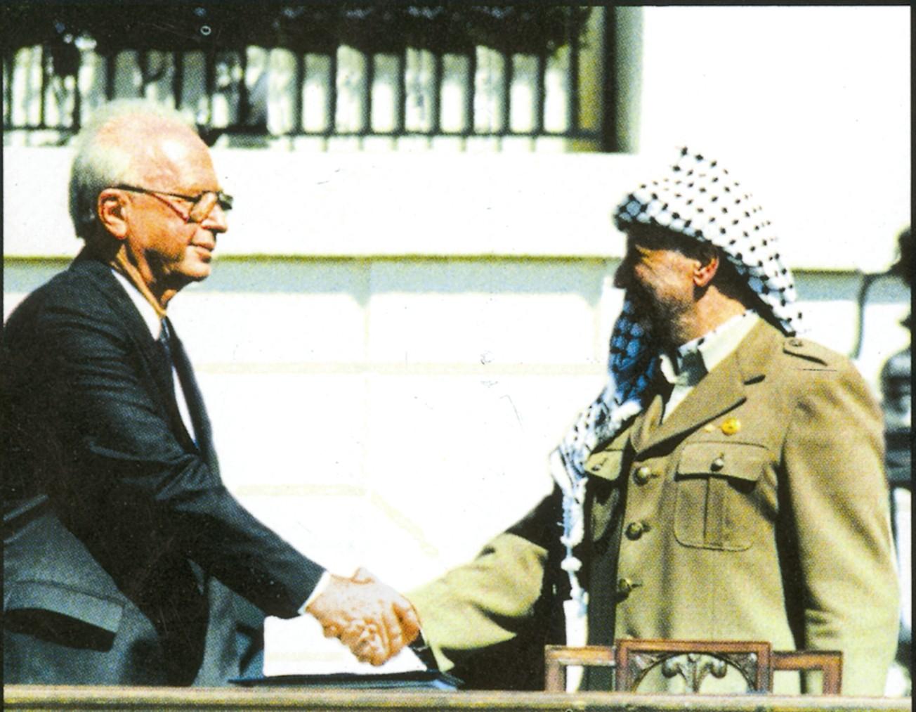 yitzak rabin arafat